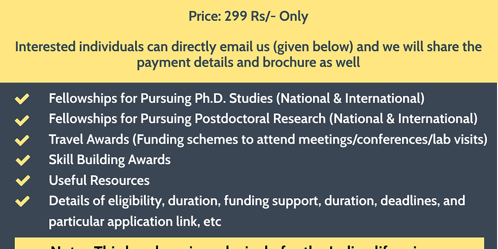 Funding and Scholarship brochure