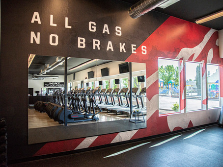 Heavy lifting with your brand. Wall murals make an impact