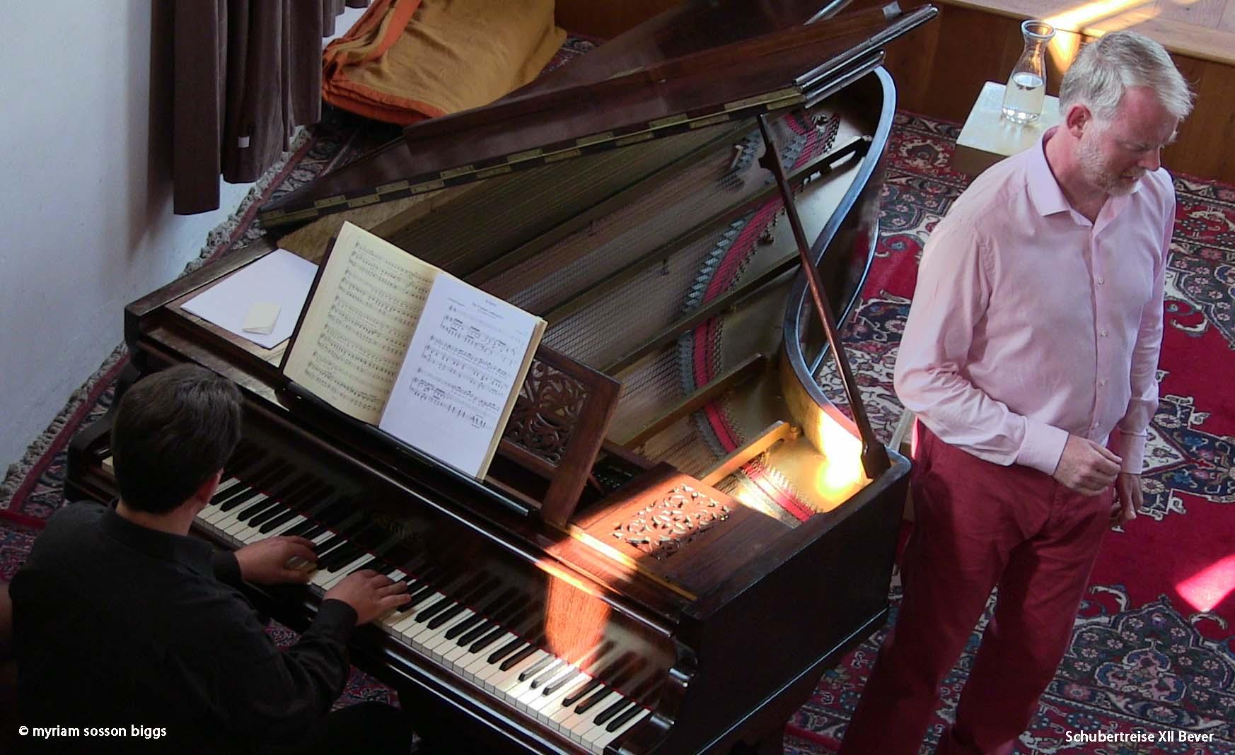 Schubertreise XII, Bever