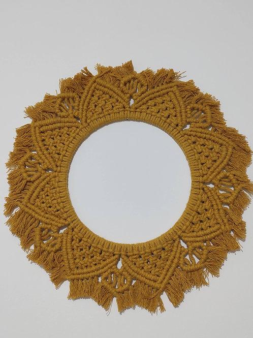Mandala de Macramê (Artesanal)