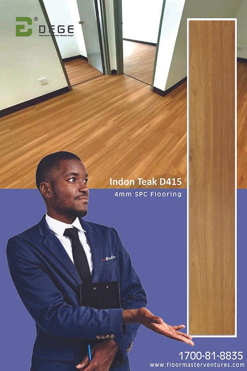 SPC Flooring INDON TEAK D415