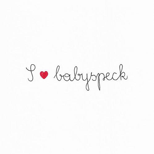 Baby I Love Babyspeck