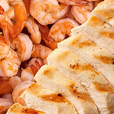 Add to any dish Chicken $3.50 | Shrimp $2.75 ea.