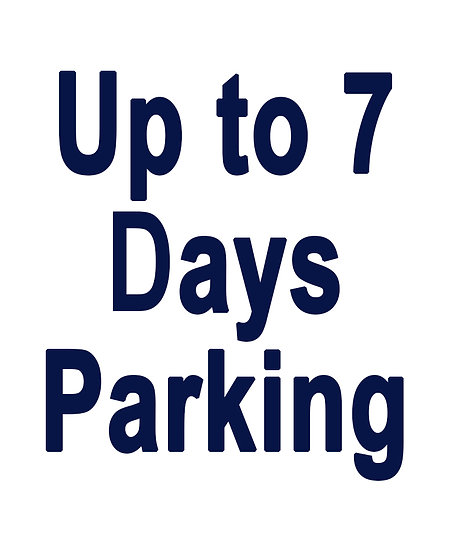 Up to 7-days of Parking with Shuttle Service