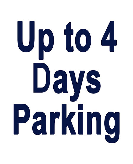 Up to 4-days of Parking with Shuttle Service
