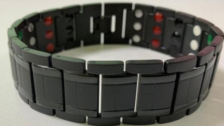Mens Black/Blue- Triple Strength Power Bracelet