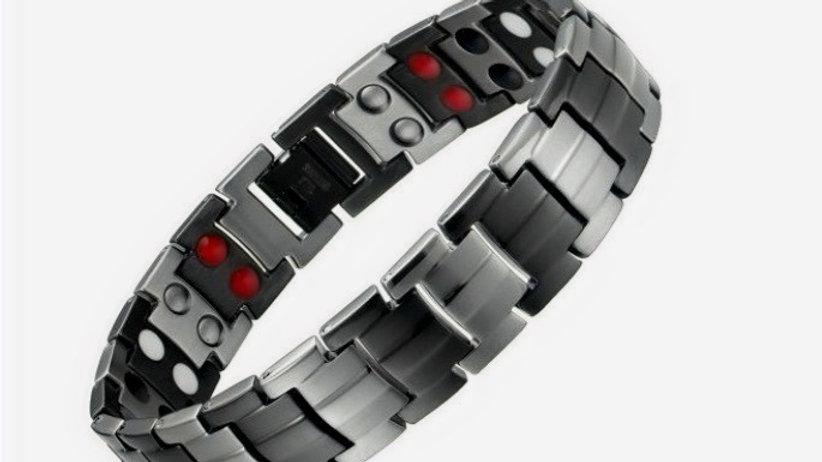 Men's - Double Power Bracelet with Tourmaline
