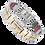 Thumbnail: Triple Strength Power Bracelet with Hermatite