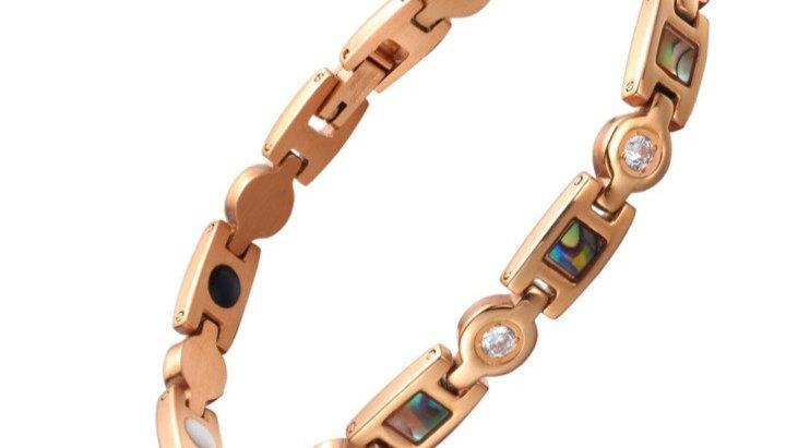 Single Strength Power Bracelet with Tourmaline