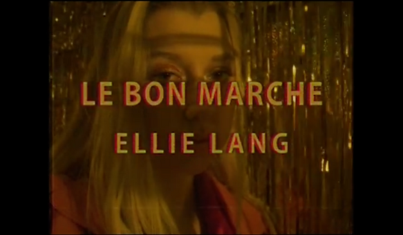 Le Bon Marche Jaxson Varni Film Still