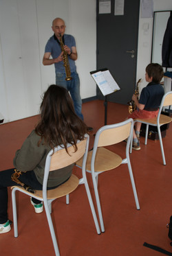cours collectif sax