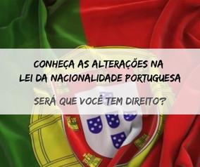 Alterações na lei da nacionalidade portuguesa