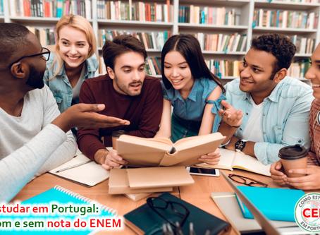 Estudar em Portugal: com e sem nota do ENEM