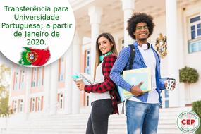 Transferência de graduação do Brasil para Portugal
