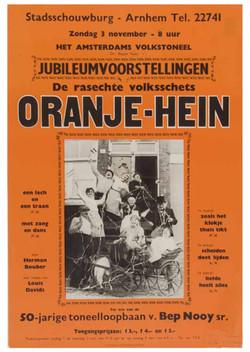 25 Affiche Oranje-Hein (jubileum 50)