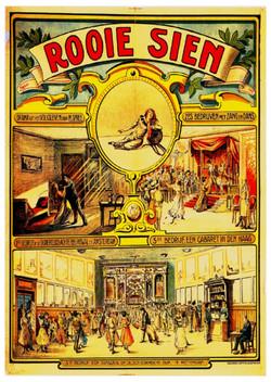 60 Affiche Rooie Sien 1918