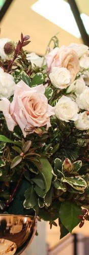 N1720 Tall Floral centerpiece Elegant Ev