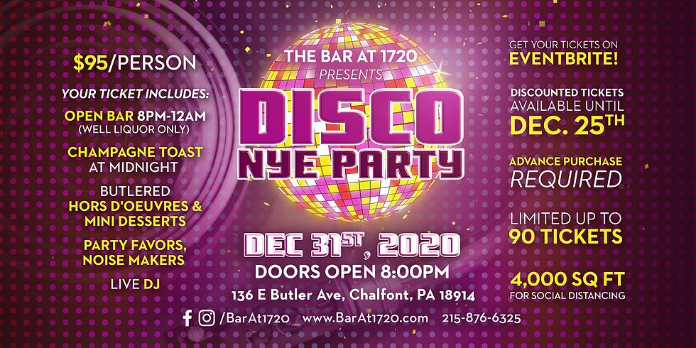DISCO NYE PARTY