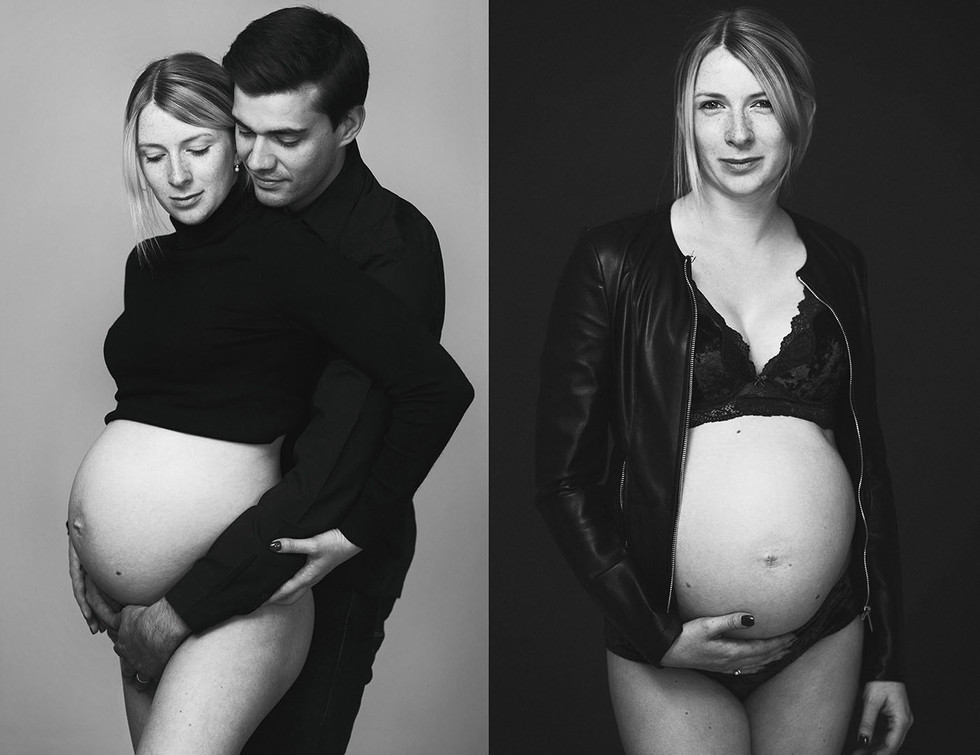 Babybauch-Shooting in Köln | Moderne Schwangerschafts-Portraits und Babybauchfotos