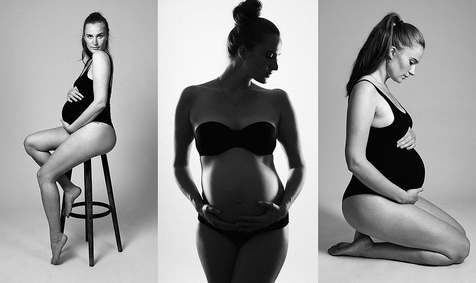 Babybauch-Schwangerschafts-Fotoshooting-