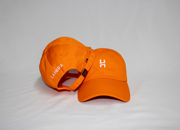 Classic Dad Hat (Neon Orange)