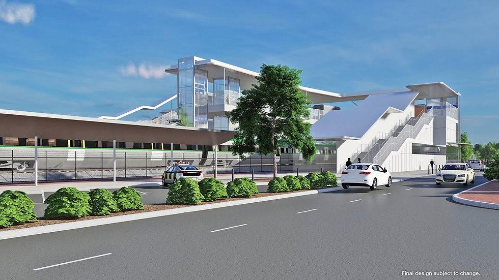 New Midland Station