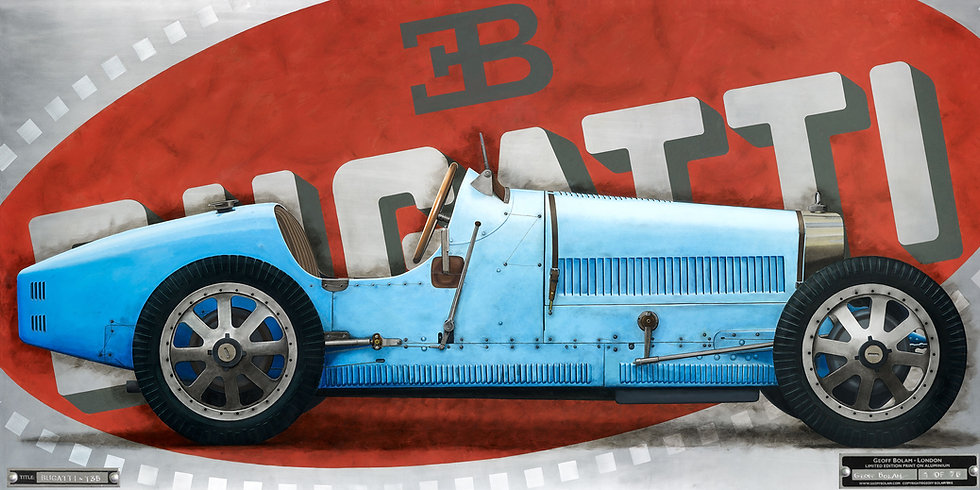 Bugatti Type 35 Print