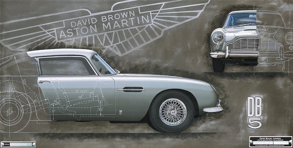 Aston Martin DB5 print