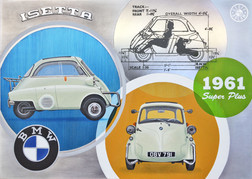 Issy the Isetta commissioned painting