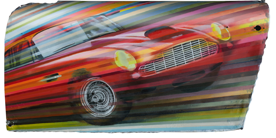 DB4 meets DB4 original painting for sale