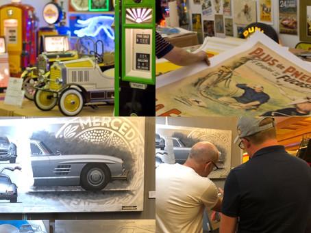 Pebble Beach & Monterey exhibitions