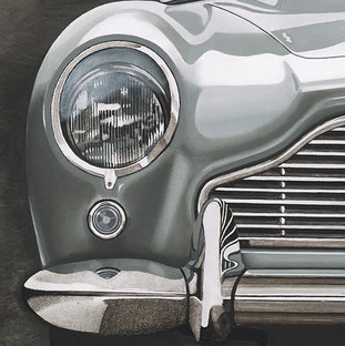 Detail of DB5 painting