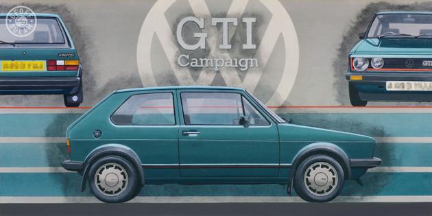 Golf Mk1 original painting