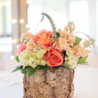Floral table piece