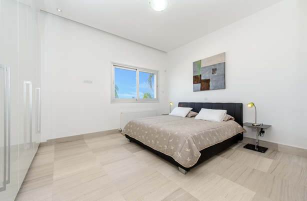 The villa can sleep up to 12 persons in comfort.
