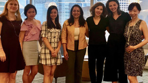 """Shared my story with a group of amazing young women from """"The Women's Foundation"""" mentee cohort"""