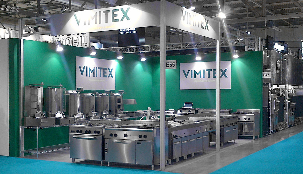 photo of Vimitex stand at Host Milano 2015