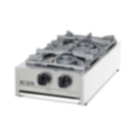 Gas boiling tops catering cooking equipment