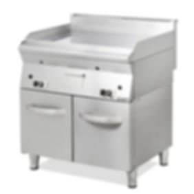 Gas Fry Top catering cooking equipment