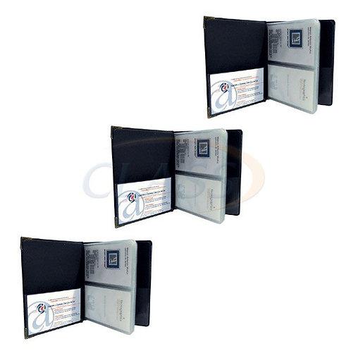 Tarjetero en curpiel sellado 50 tarjetas   STC50