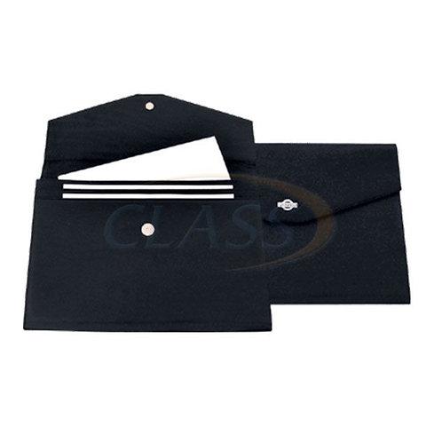 """Carpeta en PIEL """"boss"""" con broche T/Carta PC03"""