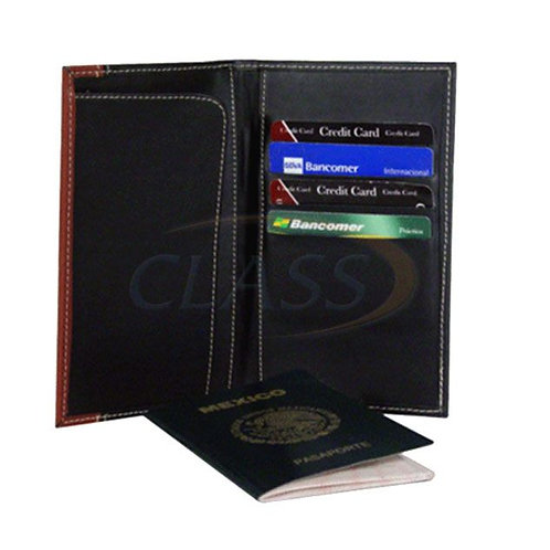 Portapasaporte Tarjetero en PIEL   PPD01