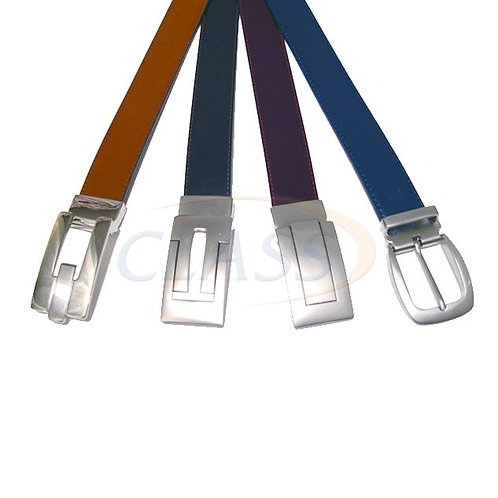 Cinturon PIEL  de vestir Doble vista    PCV01