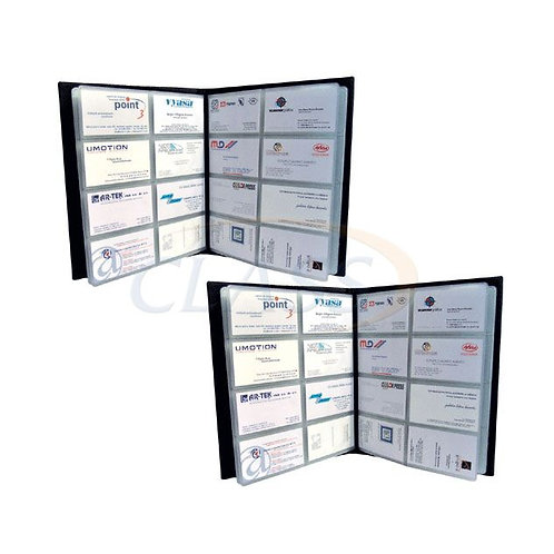 Tarjetero en curpiel sellado 200 tarjetas   STC200