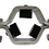 """Thumbnail: Soporte tipo Abrazadera Hexagonal 4"""" O24FCF"""