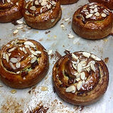 Cherry and Pistachio French Snail - just