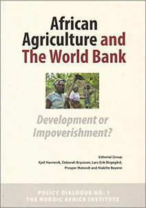 african agriculture and the world bank book cover