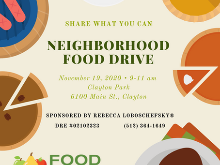 Let's Us Come Together To Feed Our Community!