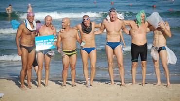 """Cyprus Israel Swim promotes """"Sea Defenders"""""""
