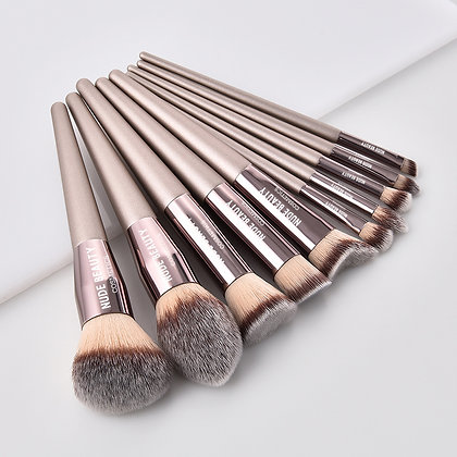 High End 10 Piece Make Up Brush Set